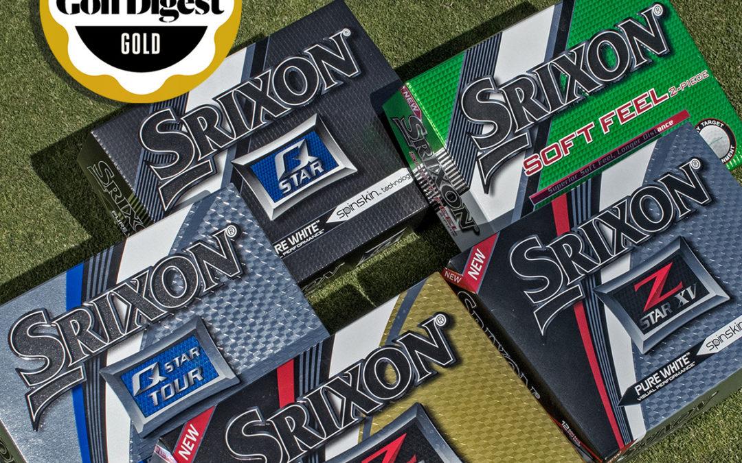 Srixon Earns Multiple Gold on 2017 Golf Digest Hot List