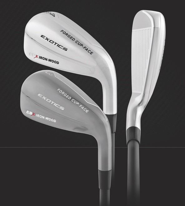 Tour Edge Launches New Exotics CBX Iron-Wood