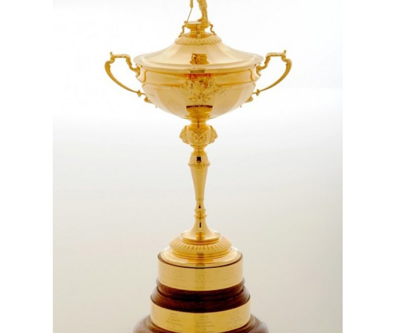 The Ryder Cup on Display in Port Saint Lucie Florida