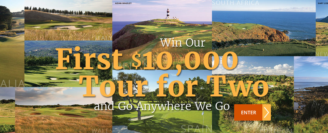 "PerryGolf ""$10,000 Tour For Two"" Sweepstakes"