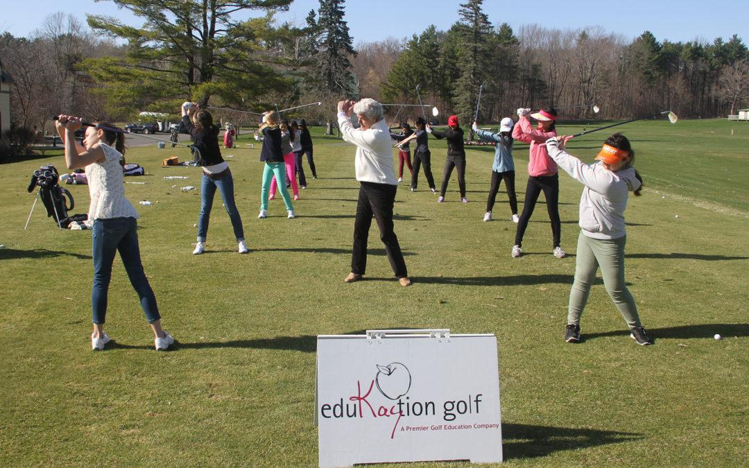 LPGA Hall of Fame Instructor Kay McMahon Introduces Golf 8.5
